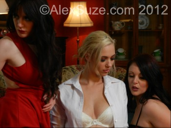 Sam Bentley, Sophia Knight and Shay Hendrix