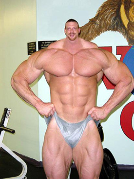 Body Builder With Small Head